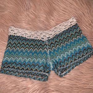 Bohemian beach shorts